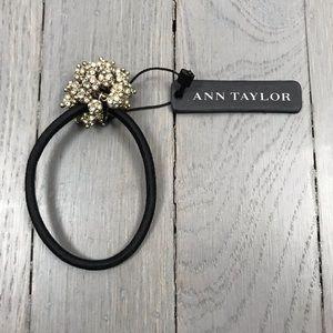 NWT Ann Taylor Rhinestone Formal Sparkle Hair Tie